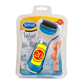 Electrical Foot File Velvet Soft -20€ SCHOLL Electrical Files