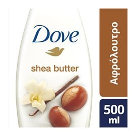 Bath & Shower Shea Butter  DOVE Bath & Shower Gels