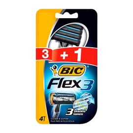 Men's Disposable Razors BIC Flex 3 Classic 3+1 GIFT BIC Men's Razors