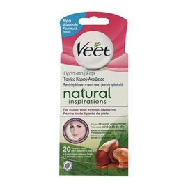 Face Hair Removal Strips Cold Wax for Normal Skin VEET Hair Removal