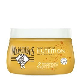 Shea Butter, Sweet Almond  & Argan Oil  Nourishing Body Cream LE PETIT MARSEILLAIS Body Care
