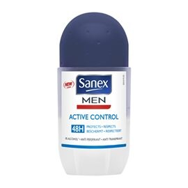 Underarm Protection  Men Active Control Roll-on  SANEX Men's Deodorants