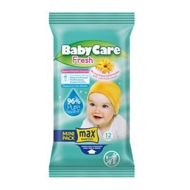 Babycare Fresh Mini Pack   BABYCARE Wet Wipes