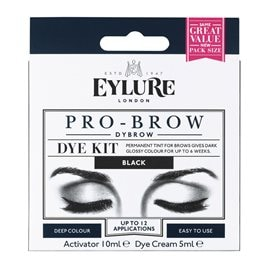 Black Dybrow Dye Kit EYLURE Σκιές Φρυδιών