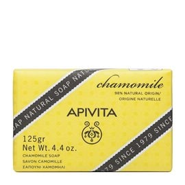 Chamomile Soap with Soothing Properties  APIVITA Soap Bars