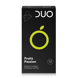 Fruits Passion - Condoms for passion & play  DUO Condoms