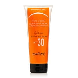 Face and Body Sun Care Cream SPF30 RADIANT Body