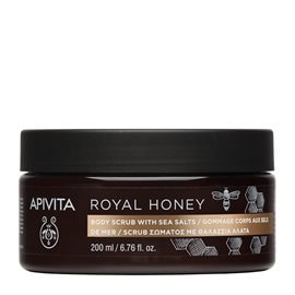 Royal Honey Body Scrub with Sea Salts  APIVITA Scrubs & Exfoliation