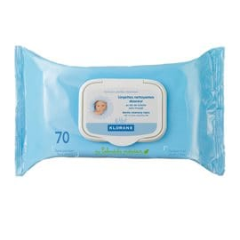 Gentle Cleansing Wipes Klorane Bebe KLORANE BABY WIPES