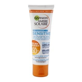 Advanced Sensitive Face & Neck Cream SPF50+ AMBRE SOLAIRE Προσώπου