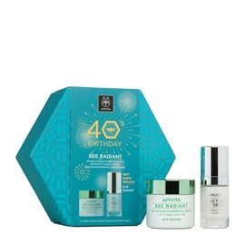 Age Defense Illuminating Cream - Rich Texture & Intensive Care Eye Serum GIFT APIVITA Skincare Sets