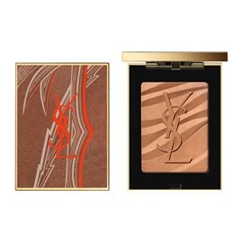 Summer Look  - Les Sahariennes Bronzing Stones Summer Collector  YVES SAINT LAURENT Powders