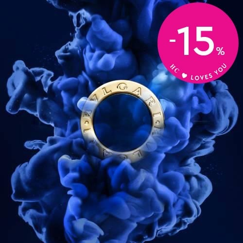 BVLGARI -35% and -50% in selected items!