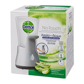 Liquid Soap No-Touch Gadget with Aloe Vera Refill DETTOL Liquid Soap Refillments
