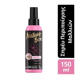 Insta Lift-up Spray with Cold Pressed Almond Oil NATURE BOX Special Hair Treatments