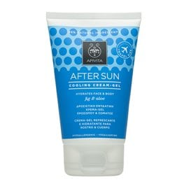 After Sun Cooling Cream-Gel with Fig & Aloe Travel Size APIVITA Face
