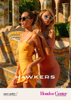 NEW ENTRY! HAWKERS sunglasses now at HONDOS CENTER!