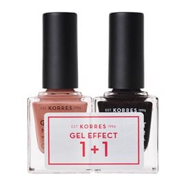 Gel Effect 1+1 Set  KORRES Nail Polish
