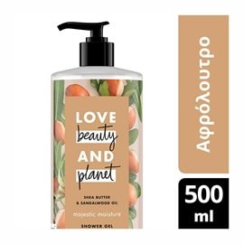Bath & Shower Shea Butter LOVE BEAUTY AND PLANET Bath & Shower Gels