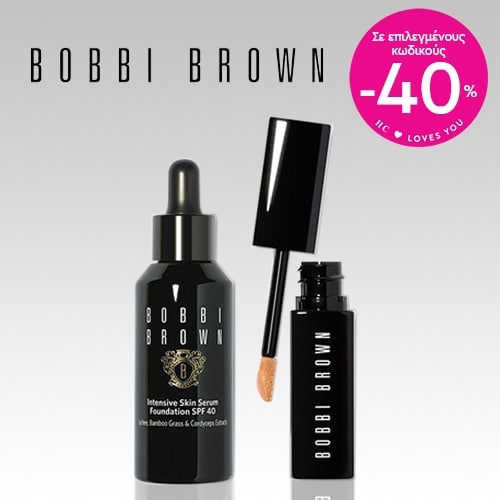BOBBI BROWN -40% off on selected items!