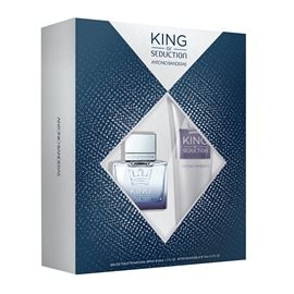 King Of Seduction Eau De Toilette+Balsam ANTONIO BANDERAS Perfume Sets
