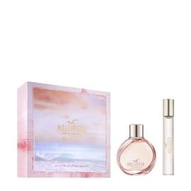 Hollister Wave Set Eau de Parfum & Travel Size Eau de Parfum For Her HOLLISTER Σετ Αρωμάτων