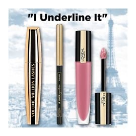 """I Underline It"" L'ORÉAL PARIS ΣΕΤ ΜΑΚΙΓΙΑΖ"