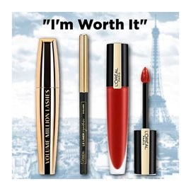 """I'm Worth It"" L'ORÉAL PARIS ΣΕΤ ΜΑΚΙΓΙΑΖ"