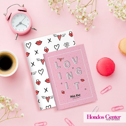 MISS KAY Buy any 2 perfumes and get the Love Notebook Set