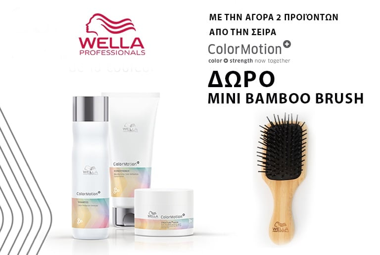 Mini Bamboo Brush Wella - Free Gift