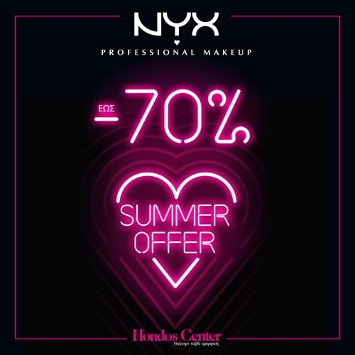NYX Professional Makeup up to -70% off!
