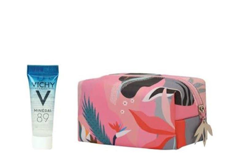 VICHY Autumn Pouch and Mineral 89 Skin Booster - FREE GIFT