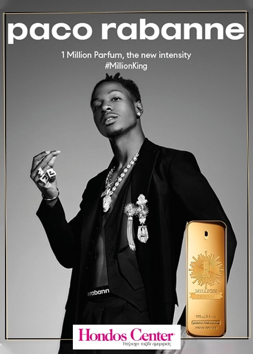 1 MILLION PARFUM. The new fragrance by PACO RABANNE