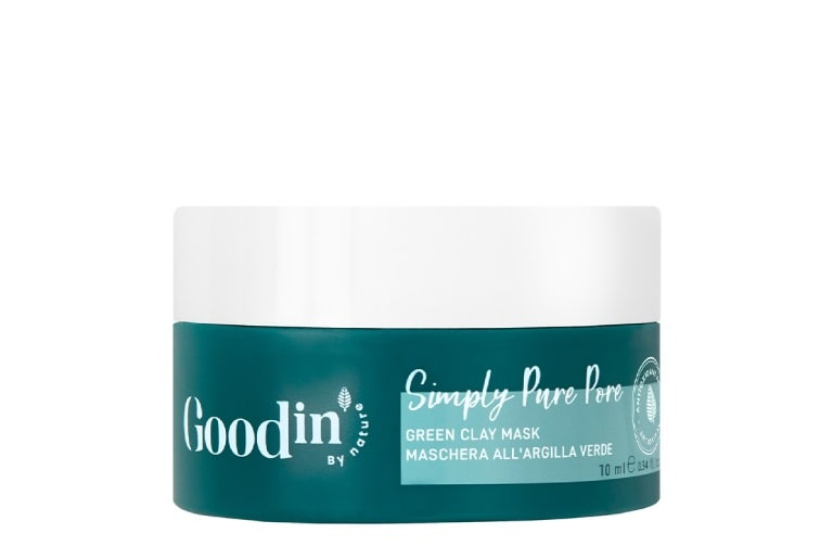 GOODIN Simply Pure Green Clay μάσκα προσώπου - FREE GIFT