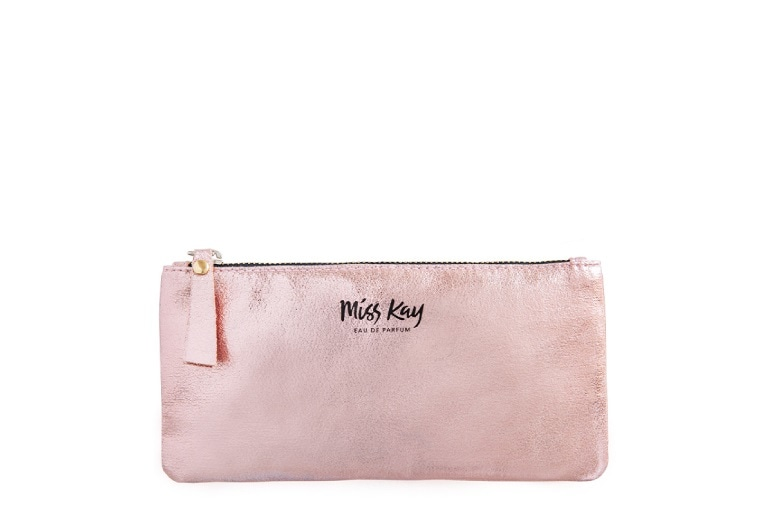 MISS KAY Rose Gold Clutch - FREE GIFT