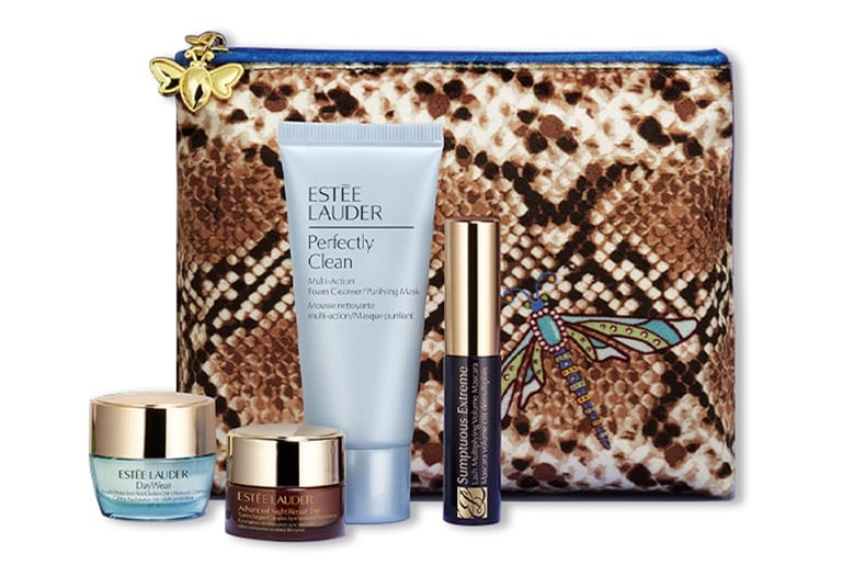 ESTEE LAUDER Pouch with 4 Products - FREE GIFT
