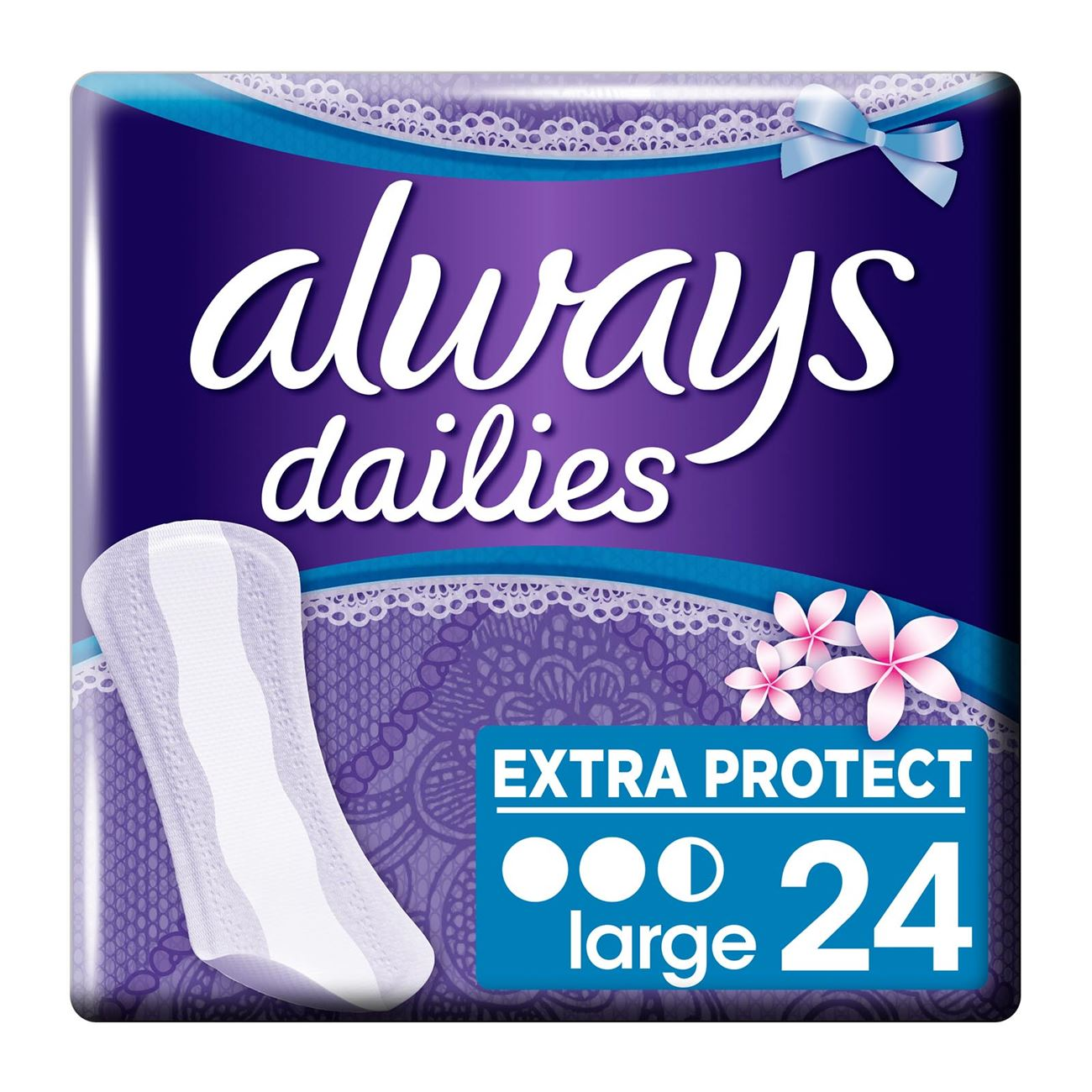 Dailies Extra Protect Large Fresh Σερβιετάκια