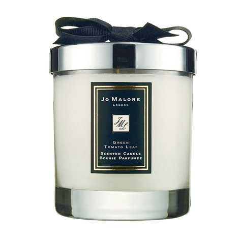 Tomato Green Leaf Home Candle