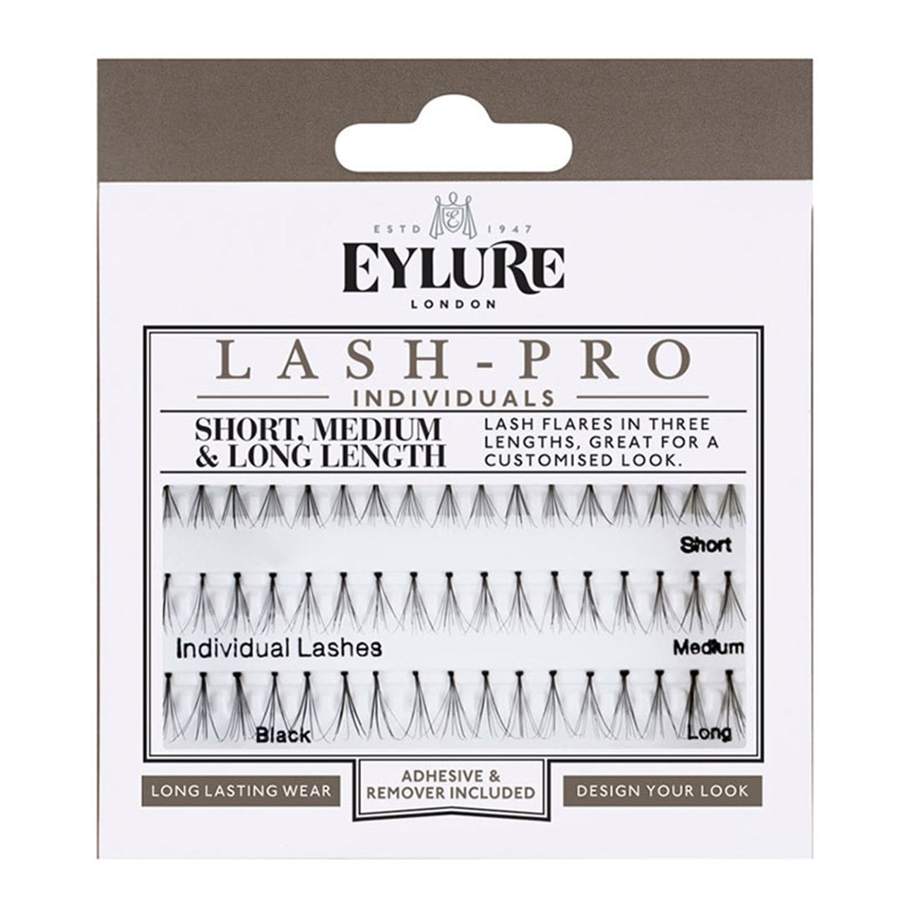 Lash-Pro Individuals - Short, Medium & Long Lashes