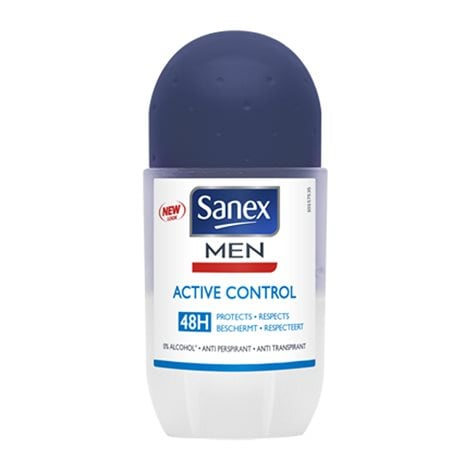 Underarm Protection  Men Active Control Roll-on