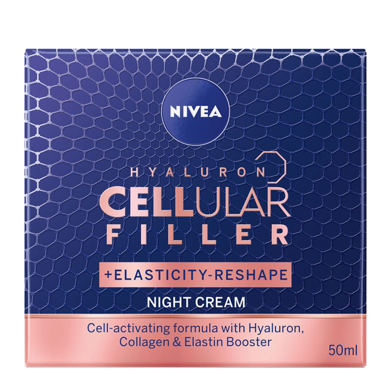 Hyaluron Cellular Filler Night Cream+ Elasticity-Reshape