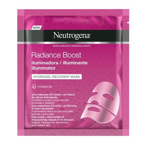 Radiance Boost Illuminator Hydrogel Recovery Mask