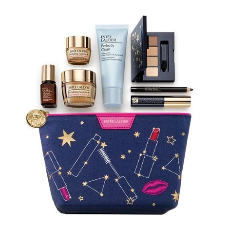 Celestial Cosmetic Bag With 7 Special Size Products - Free Gift