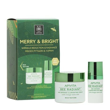 Promo Box Merry And Bright Wrinkle Reduction & Radiance-Rich Texture