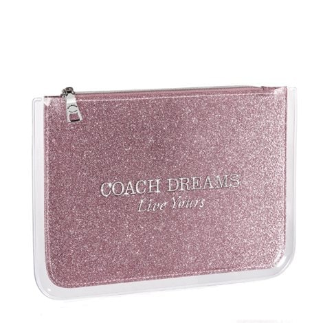 Coach Dreams Flat Pouch - Free Gift