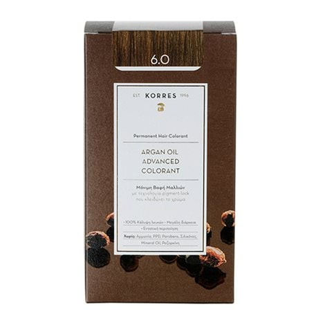 Argan Oil Advanced Colorant 6.0 Ξανθό Σκούρο