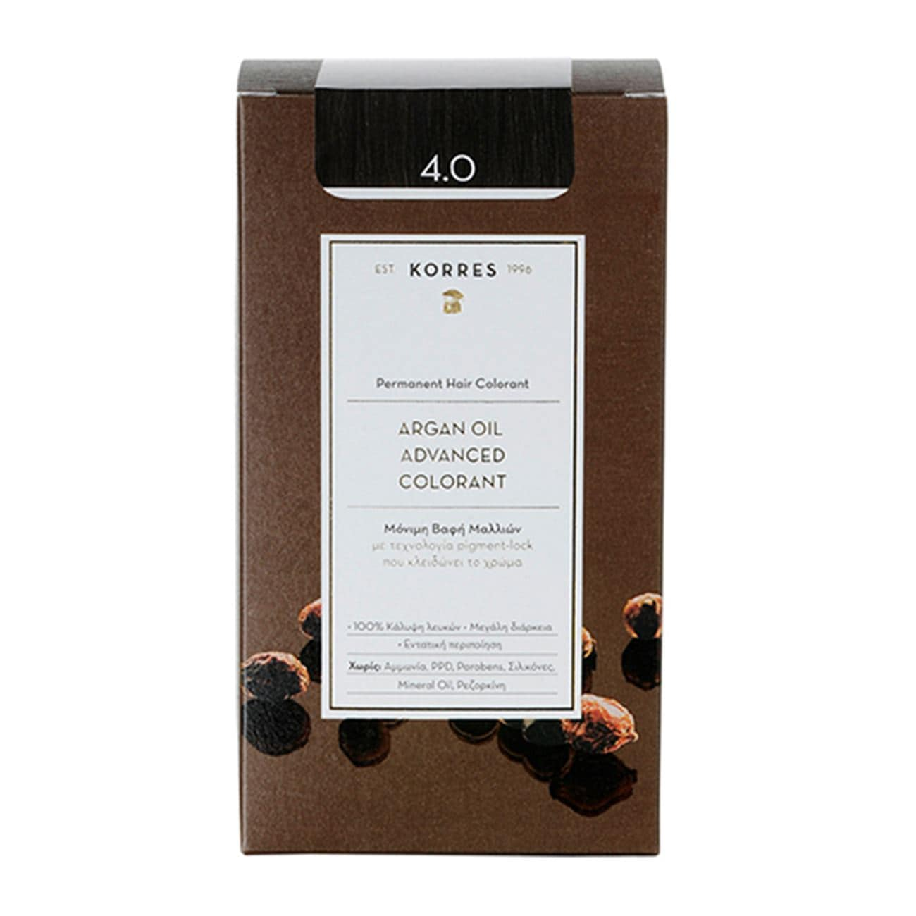 Argan Oil Advanced Colorant 4.0 Καστανό