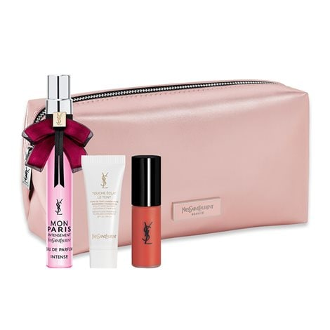 Pink Pouch With 3 Products In Special Size - Free Gift
