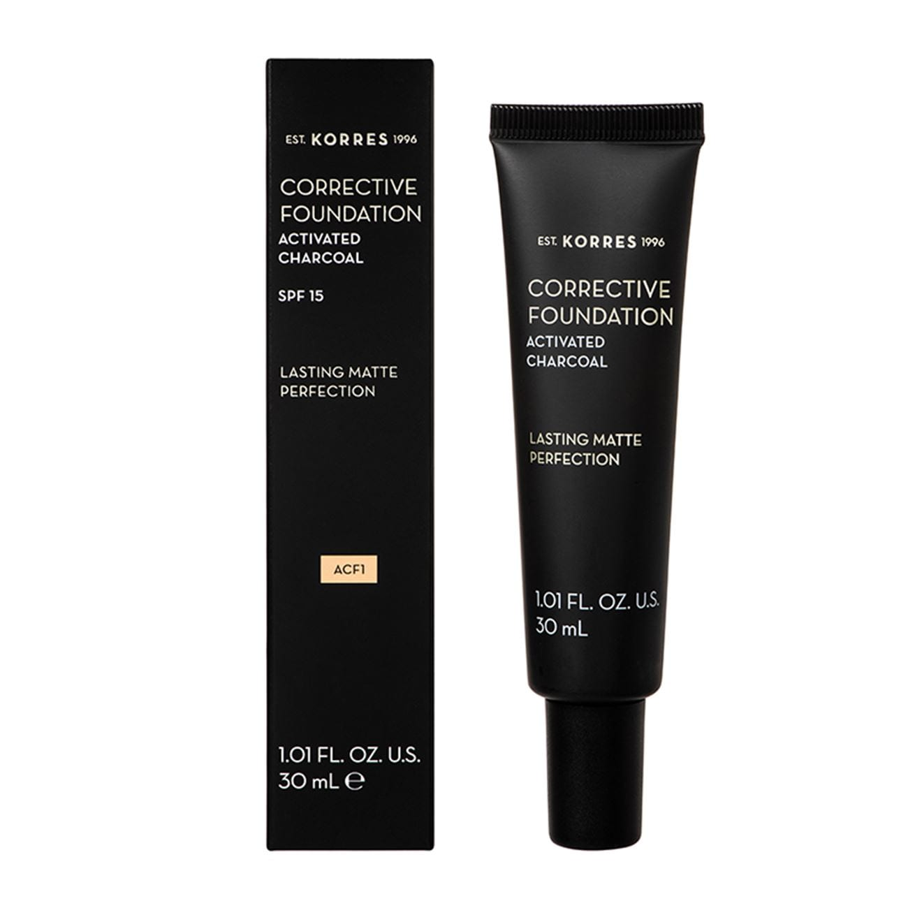 Corrective Foundation Activated Charcoal SPF15