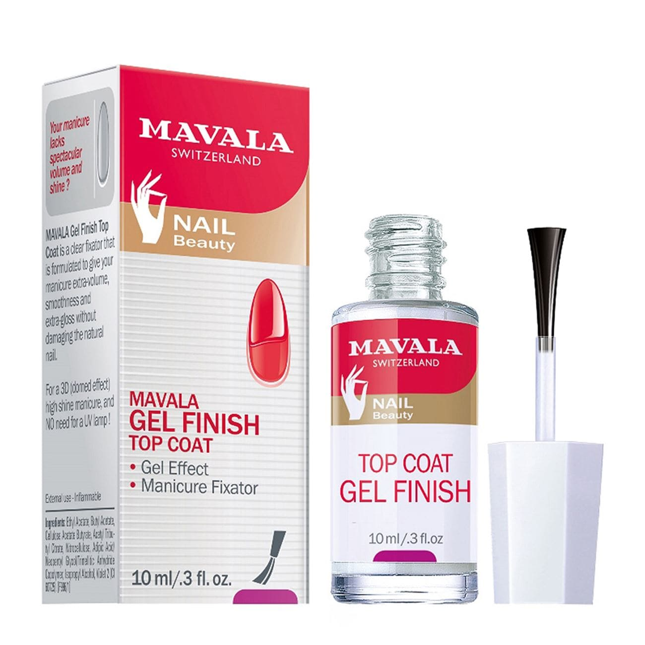 Gel-Finish Top Coat
